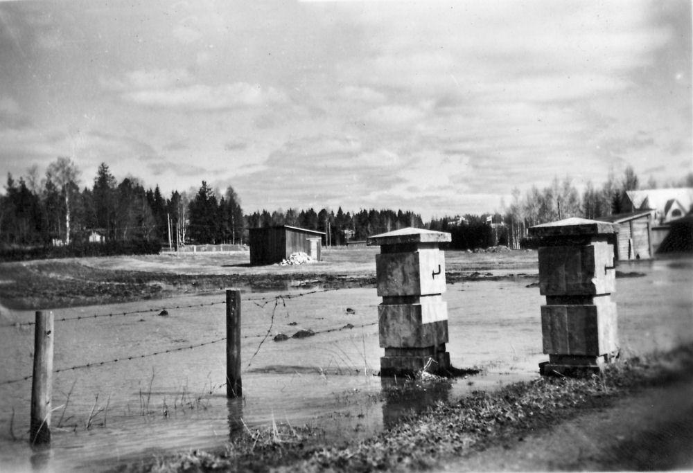 1955 tulvaa